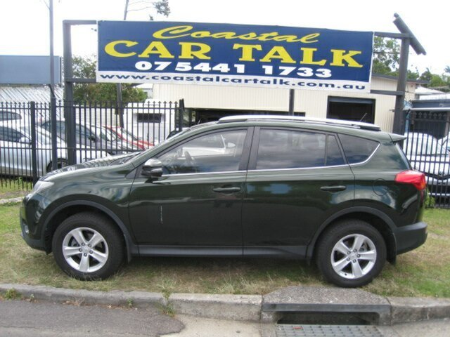 Used Toyota RAV4 ASA44R Cruiser (4x4), 2013 Toyota RAV4 ASA44R Cruiser (4x4) Green 6 Speed Automatic Wagon