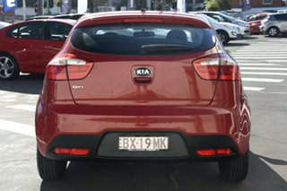 2013 Kia Rio UB MY13 S Red 4 Speed Sports Automatic Hatchback