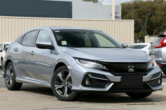 New Honda Civic 10th Gen MY20 VTi-LX Cardiff, 2020 Honda Civic 10th Gen MY20 VTi-LX Lunar Silver 1 Speed Constant Variable Hatchback