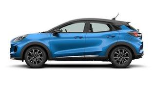2020 Ford Puma JK 2020.75MY DCT Desert Island Blue 7 Speed Sports Automatic Dual Clutch Wagon