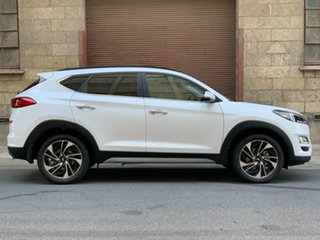 2019 Hyundai Tucson TL3 MY20 Highlander AWD White Pearl 8 Speed Automatic Wagon.