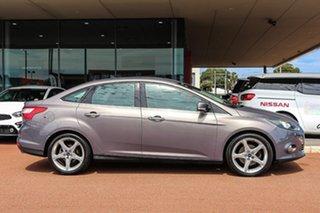 2011 Ford Focus LW Titanium PwrShift Brown 6 Speed Automatic Sedan