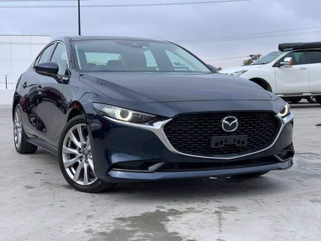 Used Mazda 3 BP2SLA G25 SKYACTIV-Drive Astina Liverpool, 2019 Mazda 3 BP2SLA G25 SKYACTIV-Drive Astina Blue 6 Speed Sports Automatic Sedan