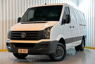 2015 Volkswagen Crafter 2FF2 MY16 50 TDI 400 MWB White 6 Speed Manual Cab Chassis.