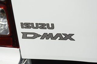 2020 Isuzu D-MAX RG MY21 SX Crew Cab Mineral White 6 Speed Sports Automatic Utility