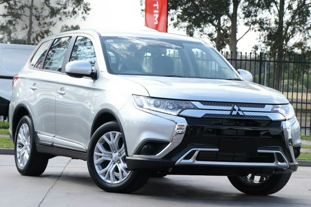 New Mitsubishi Outlander ZL MY20 ES 2WD Cardiff, 2020 Mitsubishi Outlander ZL MY20 ES 2WD Sterling Silver 6 Speed Constant Variable Wagon