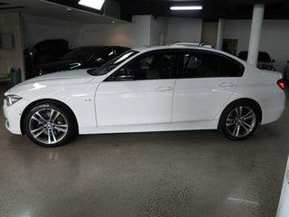 2014 BMW 3 Series F30 MY1114 328i Sport Line White 8 Speed Sports Automatic Sedan