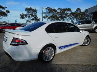2013 Ford Falcon FG MkII XR6 White 6 Speed Sports Automatic Sedan