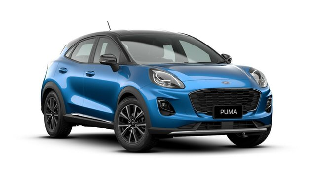 New Ford Puma JK 2020.75MY DCT, 2020 Ford Puma JK 2020.75MY DCT Desert Island Blue 7 Speed Sports Automatic Dual Clutch Wagon