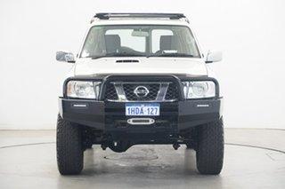 2013 Nissan Patrol Y61 GU 9 ST White 5 Speed Manual Wagon.