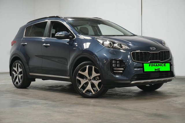 Used Kia Sportage QL MY17 GT-Line AWD Welshpool, 2016 Kia Sportage QL MY17 GT-Line AWD Blue 6 Speed Sports Automatic Wagon