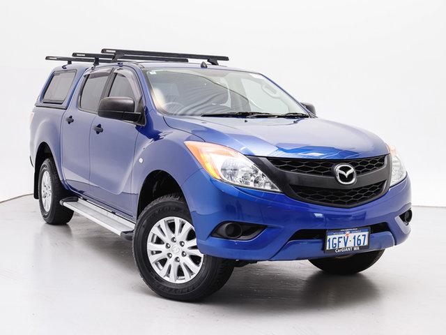 Used Mazda BT-50  XT (4x4), 2012 Mazda BT-50 XT (4x4) Blue 6 Speed Automatic Dual Cab Utility
