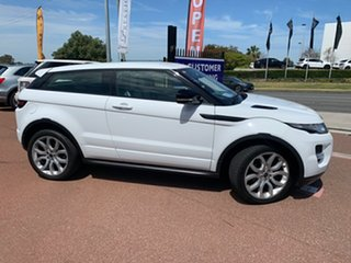 2012 Land Rover Range Rover Evoque LV SD4 Dynamic White 6 Speed Automatic Coupe.