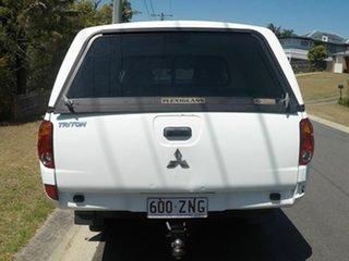 2008 Mitsubishi Triton KA/KB White Automatic Dual Cab