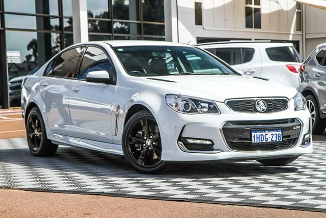 Used Holden Commodore VF II MY16 SS, 2016 Holden Commodore VF II MY16 SS White 6 Speed Sports Automatic Sedan