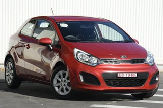 2013 Kia Rio UB MY13 S Red 4 Speed Sports Automatic Hatchback.