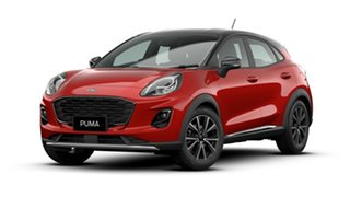 2020 Ford Puma JK 2020.75MY DCT Lucid Red 7 Speed Sports Automatic Dual Clutch Wagon.