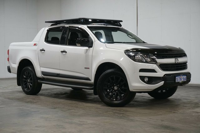 Used Holden Colorado RG MY20 Z71 Pickup Crew Cab Welshpool, 2019 Holden Colorado RG MY20 Z71 Pickup Crew Cab White 6 Speed Sports Automatic Utility