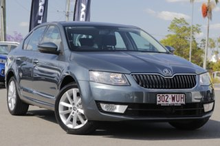 2016 Skoda Octavia NE MY17 Ambition Sedan 110TSI Metal Grey 6 Speed Manual Liftback.