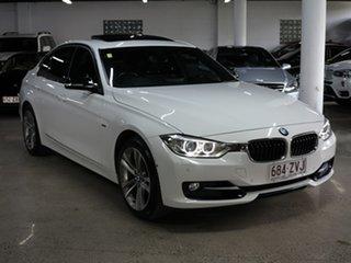 2014 BMW 3 Series F30 MY1114 328i Sport Line White 8 Speed Sports Automatic Sedan.
