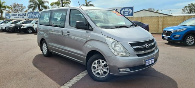 Used Hyundai iMAX TQ-W East Bunbury, 2011 Hyundai iMAX TQ-W Silver 4 Speed Automatic Wagon