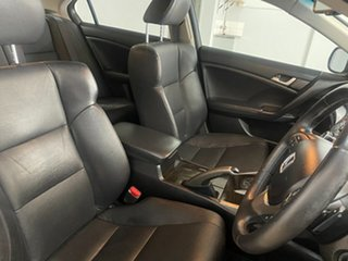 2008 Honda Accord 10 Euro Luxury Black 5 Speed Automatic Sedan