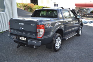 2015 Ford Ranger PX MkII XLT Double Cab Grey 6 Speed Manual Utility