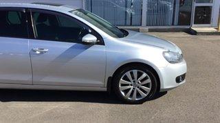 2011 Volkswagen Golf VI MY11 118TSI DSG Comfortline Silver 7 Speed Sports Automatic Dual Clutch.