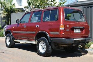 1992 Toyota Landcruiser FZJ80R GXL Red 5 Speed Manual Wagon.