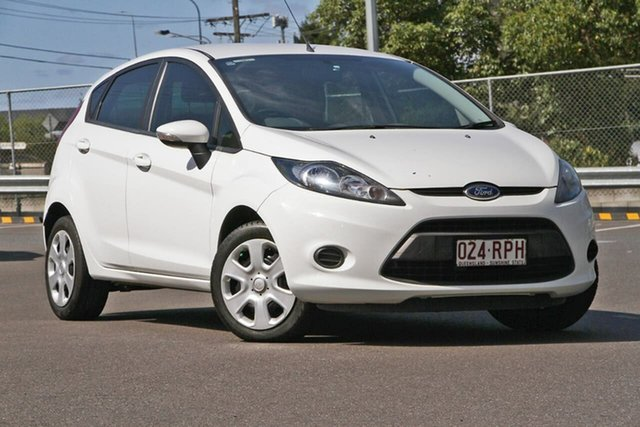 Used Ford Fiesta WT CL PwrShift, 2011 Ford Fiesta WT CL PwrShift White 6 Speed Sports Automatic Dual Clutch Hatchback