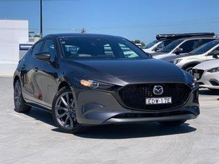 2019 Mazda 3 BP2HLA G25 SKYACTIV-Drive Evolve Grey 6 Speed Sports Automatic Hatchback.