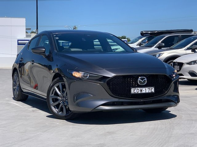 Used Mazda 3 BP2HLA G25 SKYACTIV-Drive Evolve Liverpool, 2019 Mazda 3 BP2HLA G25 SKYACTIV-Drive Evolve Grey 6 Speed Sports Automatic Hatchback