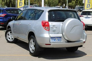 2008 Toyota RAV4 ACA33R MY08 CV Silver 4 Speed Automatic Wagon