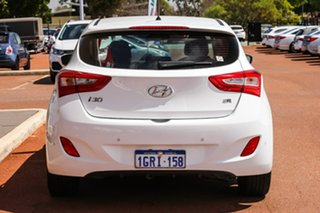 2016 Hyundai i30 GD5 Series II MY17 SR White 6 Speed Sports Automatic Hatchback