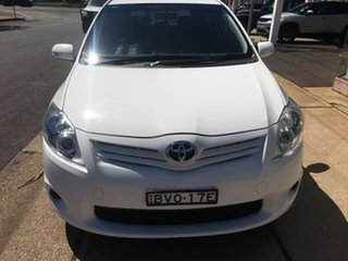 2011 Toyota Corolla ZRE152R Ascent White Automatic.