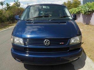 2003 Volkswagen Caravelle T4 V6 Blue 4 Speed Auto Active Select Van.