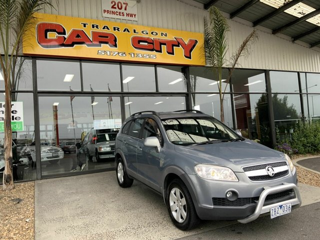 Used Holden Captiva CG MY09 CX (4x4) Traralgon, 2009 Holden Captiva CG MY09 CX (4x4) Silver 5 Speed Automatic Wagon