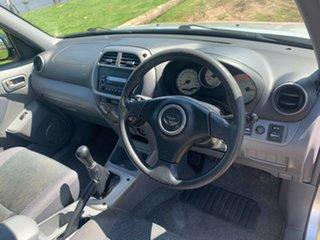 2002 Toyota RAV4 ACA21R Edge Silver 5 Speed Manual Wagon