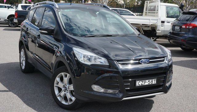 Used Ford Kuga TF MY15 Trend PwrShift AWD Phillip, 2015 Ford Kuga TF MY15 Trend PwrShift AWD Black 6 Speed Automatic Wagon