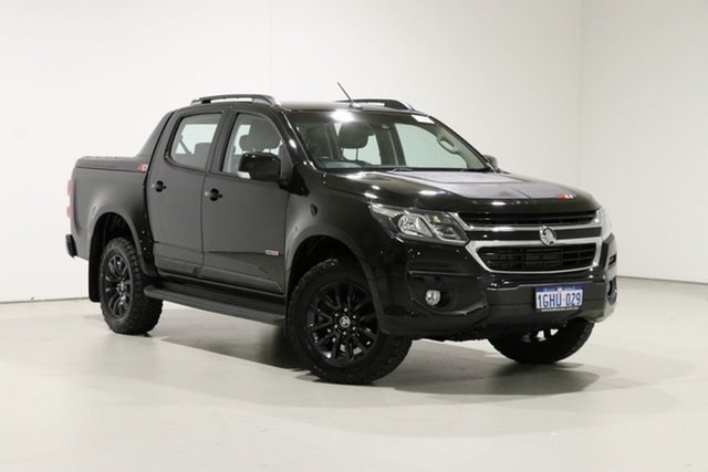 Used Holden Colorado RG MY17 Z71 (4x4), 2017 Holden Colorado RG MY17 Z71 (4x4) Black 6 Speed Automatic Crew Cab Pickup