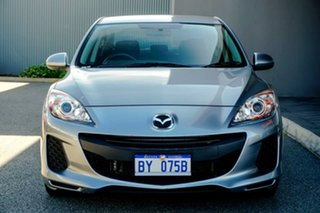 2012 Mazda 3 BL10F2 Neo Silver 6 Speed Manual Sedan