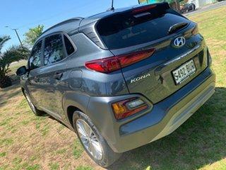 2017 Hyundai Kona OS MY18 Elite 2WD Dark Knight & Black Roof 6 Speed Sports Automatic Wagon