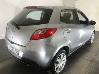 2013 Mazda 2 DE10Y2 MY13 Neo Silver 4 Speed Automatic Hatchback