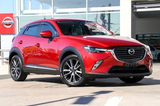 2015 Mazda CX-3 DK4W7A Akari SKYACTIV-Drive i-ACTIV AWD Soul Red 6 Speed Sports Automatic Wagon.