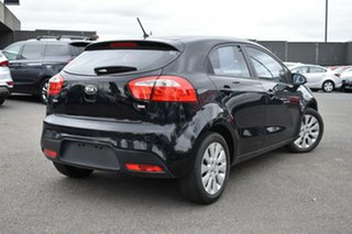 2014 Kia Rio UB MY14 SI Black 6 Speed Manual Hatchback