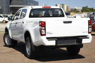 2020 Isuzu D-MAX RG MY21 SX Crew Cab Mineral White 6 Speed Sports Automatic Utility.