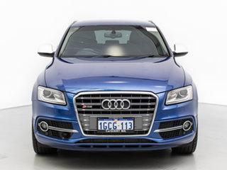2016 Audi SQ5 8R MY16 Upgrade 3.0 TDI Quattro Blue 8 Speed Automatic Wagon.