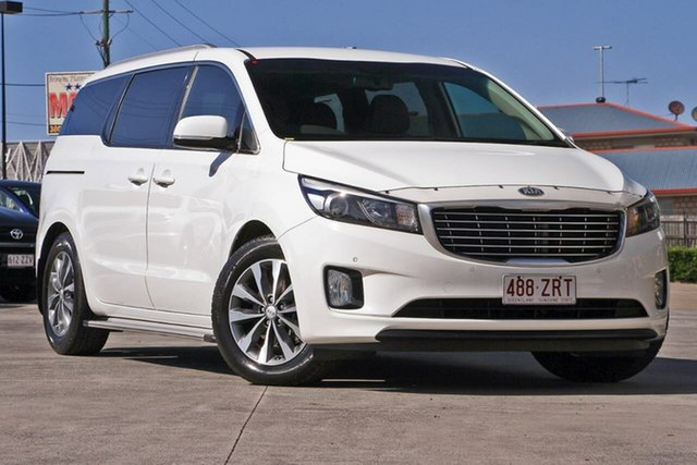 Used Kia Carnival YP MY16 SLi, 2016 Kia Carnival YP MY16 SLi White 6 Speed Sports Automatic Wagon