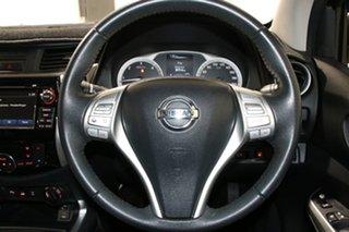 2016 Nissan Navara NP300 D23 ST-X (4x4) White 6 Speed Manual Dual Cab Utility