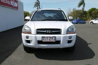 2009 Hyundai Tucson JM MY09 City SX White 5 Speed Manual Wagon
